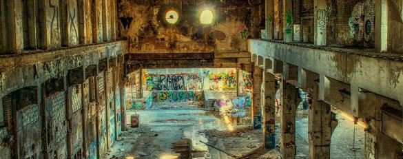 reforma de local abandonado