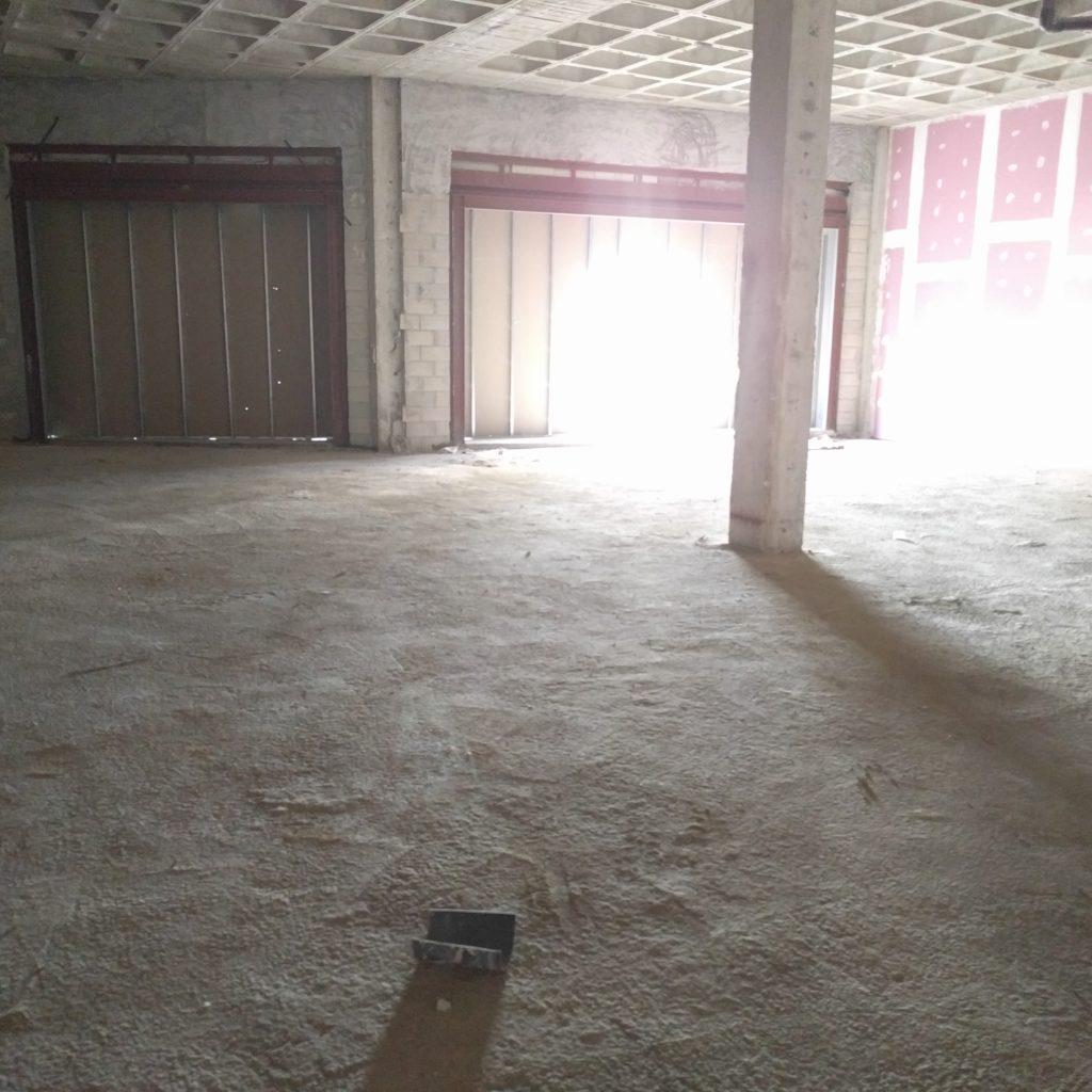 Interior Del Local Antes De La Obra