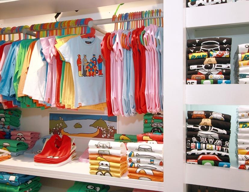 C mo decorar una tienda de ropa infantil acexia for Decoracion de almacenes de ropa