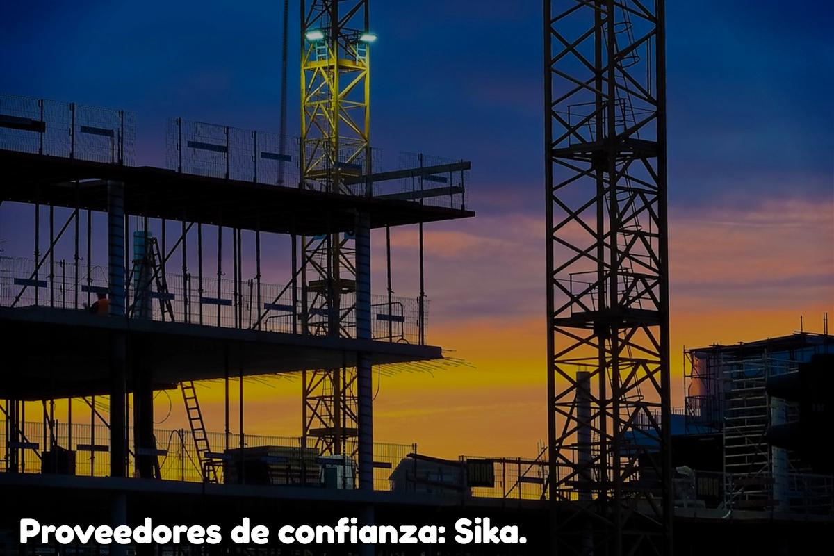 Proveedores De Confianza: Sika